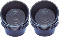 From 12.99 Professional Cupcake / Muffin Cup Baking Tins Pack Of 12 With Glidex tm Non Stick By Lets Cook