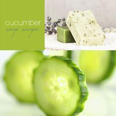 Cucumber Soap Recipe - 9 DIY Homemade Soap Recipes