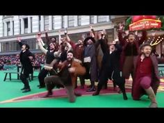 "FIDDLER ON THE ROOF (Broadway) - ""To Life"" [LIVE @ Macy's Thanksgiving Day Parade] - YouTube"