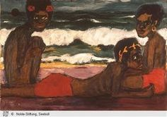 Papuan youth - Emil Nolde, 1914