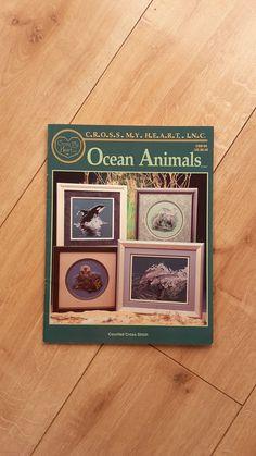 Cross My Heart Inc Ocean Animals Counted Cross by BeesKneesCraft
