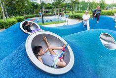 485 Tampines Alchoves | Playpoint Outdoor Gym, Outdoor Playground, Outdoor Restaurant Design, Playground Design, Playground Kids, Fire Pit Accessories, Kindergarten Design, Landscape Architecture Design, Kids Play Area