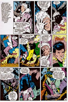 The beginning of a beautiful friendship: Polar Boy and Matter-Eater Lad from the LEGION OF SUBSTITUTE HEROES SPECIAL. Art by Keith Giffen.