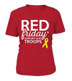 Now available on our store: Red Friday Suppor.... Check it out here: http://motherproud.com/products/red-friday-support-our-troops?utm_campaign=social_autopilot&utm_source=pin&utm_medium=pin