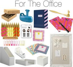 Gifts for the home office or a co-worker/boss/friend starting a new business!