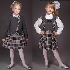 Toddler School Uniforms, Cute School Uniforms, School Uniform Girls, Girls Maxi Dresses, Stylish Dresses For Girls, Tutus For Girls, Little Kid Fashion, Baby Girl Fashion, Kids Fashion
