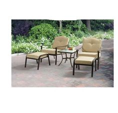 Patio Set Seats 2 Table Chairs Outdoor Deck Backyard Lounge Furniture SHIPS FREE