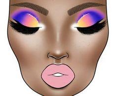 Eyeshadow Looks, Eyeshadow Makeup, Eyeshadow Ideas, Wedding Day Makeup, Bridal Makeup Looks, Creative Eye Makeup, Colorful Eye Makeup, Contour Makeup, Eyebrow Makeup