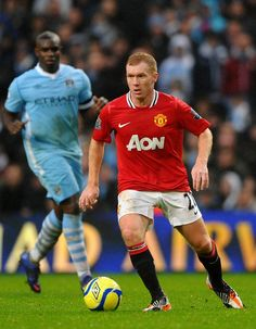 Paul Scholes , The Greatest of All Time. Precision Master.
