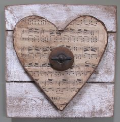 Pallets and Junk Hearts - Scavenger Chic