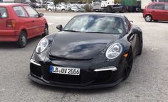 2014 Porsche GT3 Prototypes Spotted in Spain – Video. For more, click http://www.autoguide.com/auto-news/2012/09/2014-porsche-gt3-prototypes-spotted-in-spain-video.html