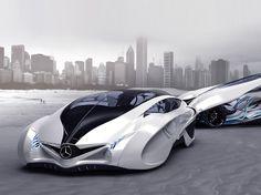 Mercedes Futuristic Photo