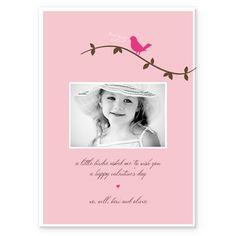 Little Love BirdeInviteHoliday CardsOther HolidaysValentine's Day