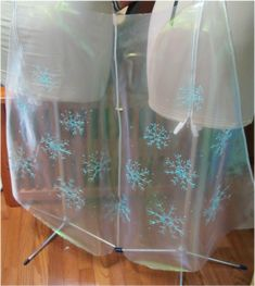 Elsa Snow queen dress - making the snowflakes #elsa #frozen #andreaschewe