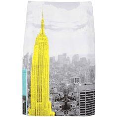 TIBI Empire Pencil Skirt ($255) found on Polyvore
