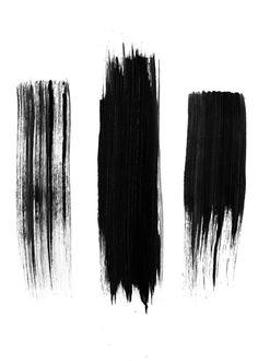 Black lines Art Prin