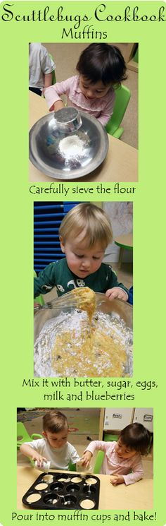 Kids just love to create the sweets they like so much!