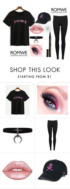 """""""Cry Baby"""" by suegore ❤ liked on Polyvore featuring Vince, Lime Crime, '47 Brand and Smith & Cult"""