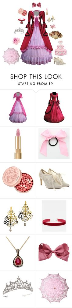 """""""Marie Antoinette-The Rose of Versailles"""" by conquistadorofsorts ❤ liked on Polyvore featuring Dolce&Gabbana, Guerlain, Rainbow Club, ASOS, Effy Jewelry, Swarovski, Cultural Intrigue and Lucifer Vir Honestus"""
