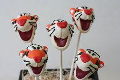 Tigger Cake Pops by Sweet Lauren Cakes, via Flickr