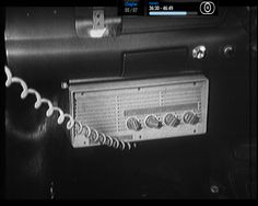 An STC 2 way radio from the Aussie cop drama Homicide. This radio was the mainstay of the Victorian police force in the mid 1960's and used the callsign VKC and in those days they only had 6 simplex channels in the VHF high band on 168MHz.