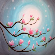 Paint nite at home idea