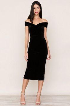 Catwalk Velvet Dress