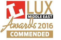 We are delighted to announce that our Organic Response-enabled luminaires have been commended at the 2016 Lux Awards Middle East!!  #IoT #OrganicResponse #FeiloSylvania #FutureOfLight #Lighting #Lux #Award #SmartLighting #Technology #InternetOfThings by feilosylvania