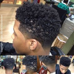 New Post curly hi top fade haircut black men Trending Now balayagehair Black Boys Haircuts, Little Boy Haircuts, Black Men Hairstyles, Cool Haircuts, Curled Hairstyles, Haircuts For Men, Men's Haircuts, Top Fade Haircut, Black Hair Cuts
