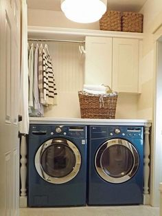 14 Basement Laundry Room ideas for Small Space (Makeovers) Laundry room decor Small laundry room ideas Laundry room makeover Laundry room cabinets Laundry room shelves Laundry closet ideas Pedestals Stairs Shape Renters Boiler Laundry Room Shelves, Laundry Room Cabinets, Small Laundry Rooms, Laundry Room Organization, Laundry Room Design, Budget Organization, Basement Laundry, Diy Cabinets, Laundry Organizer