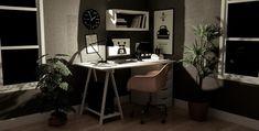 [ WIP ] images rendues en temps réel - Page 2 Office Desk, Corner Desk, Furniture, Home Decor, Corner Table, Desk Office, Decoration Home, Desk, Room Decor