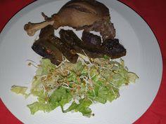 Lulu - Povesti din Bucatarie: Pulpe `de rata cu cartofi mov la cuptor Beef, Food, Salads, Meat, Essen, Meals, Yemek, Eten, Steak