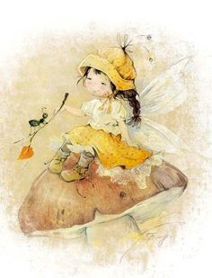 Leading Illustration & Publishing Agency based in London, New York & Marbella. Magical Creatures, Beautiful Creatures, Illustration Mignonne, Flower Fairies, Fairy Art, Children's Book Illustration, Cute Drawings, Faeries, Cute Pictures