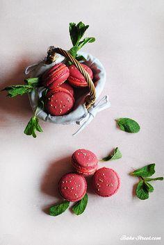 Fresas de macarons