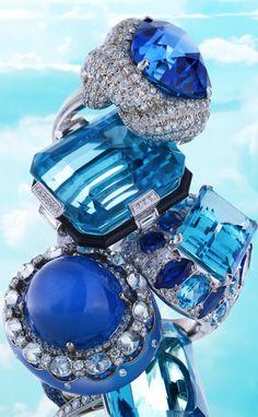 justblueinspiration: blue rings