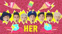 My new favorite song!! I'm so proud of Block B... This mv is great and they all look amazing! Block B's H.E.R!