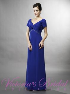 Click here: http://www.jalisbridal.com/full-collection/mother-line/vb-7792.html $370...Made of Chiffon with beaded trim