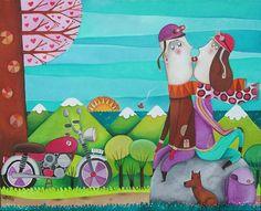 Biking The Countryside ~ Leandro Lamas