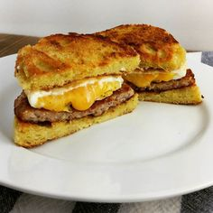 I was craving a McGriddle today for brunch and didn't have any park rinds  Instead we made a #sausage #egg and #cheese sandwich using a mug cake as the bun. Let me tell you that this is just as good - give it a try!  #keto #ketogenic #ketosis #ketodiet #lchf #lowcarbhighfat #lowcarb #diet #weightloss #fatforfuel #glutenfree #grainfree #ruledme by ruledme