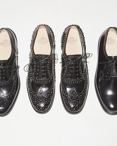 Burwood Studded Oxfords by Church's