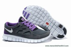Nike Free Run 2 Grey Purple White Size 12 443815-129 Online