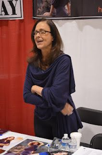 Erin Gray (Buck Rogers, Silver Spoons) at the Motor City Comic Con