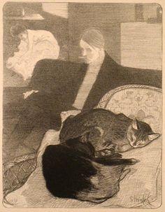 Fanfreluches (1897) Theophile-Alexandre Steinlen