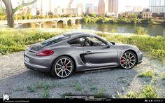 2013 Porsche Cayman Rear angle