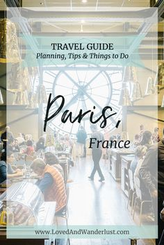 There's definitely a lot of interesting things to do and experience in Paris, but if you happen to only have a limited time in the city, here are a few recommendations to help you make the most out of it.