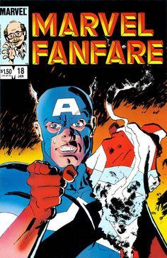Marvel Fanfare #18 - Frank Miller art & cover