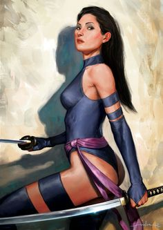 Psylocke by ~AndreaMeloni on deviantART