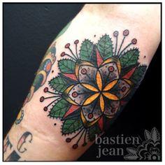 bastien jean flower mandala
