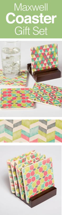 fad81e3b815631 Protect surfaces with style. Try coasters that absorb moisture to protect  furniture. Leave these