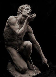 colin-vian:Cody Swanson, Adamo, Marmo, XIX secolo.